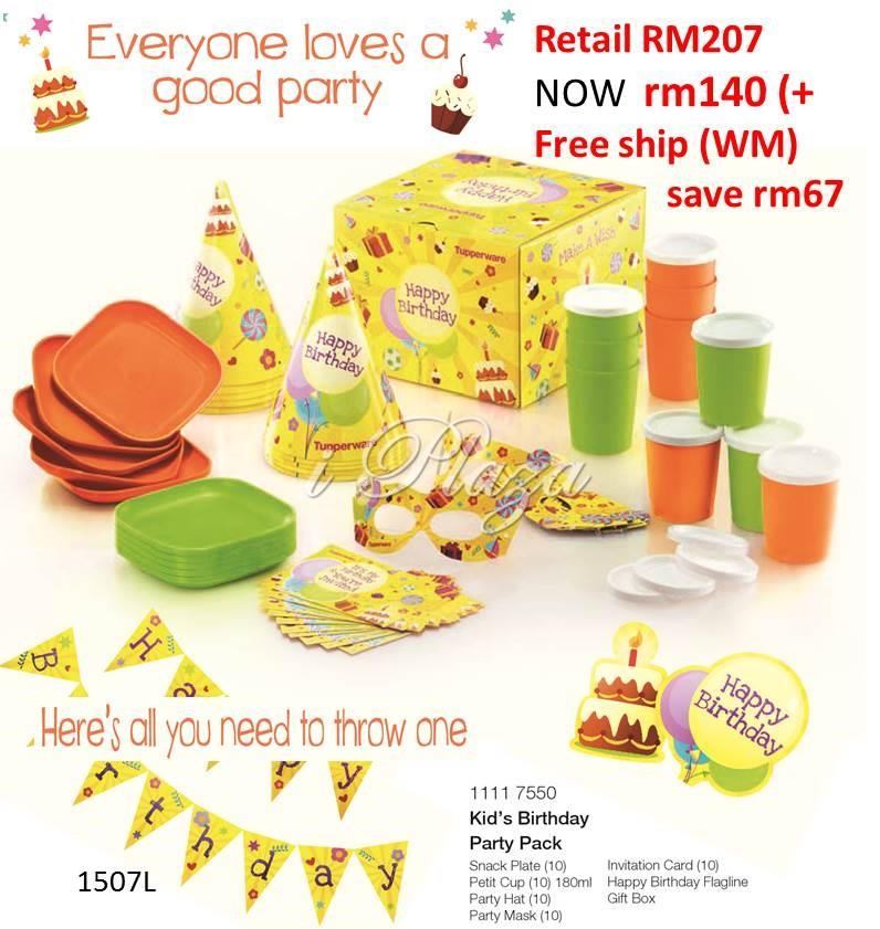 Tupperware Kid Party Set (end 10/21/2016 11:15 PM)