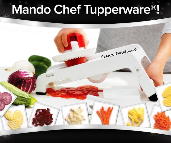tupperware mando chef mandoline end 1 14 2019 7 15 pm. Black Bedroom Furniture Sets. Home Design Ideas