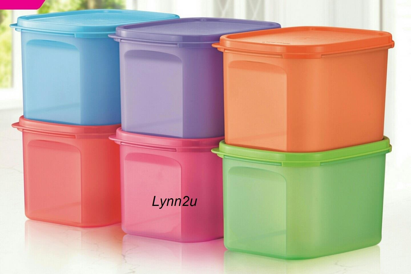 Tupperware MM Mini Rectangular II (6) 1.9L
