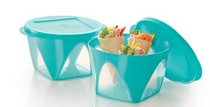 Tupperware Outdoor Bowl (2) 1.5L & 4.3L