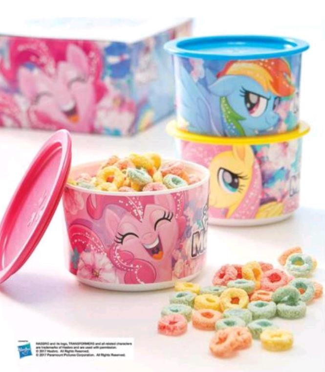 Tupperware My Little Pony Canister (3)
