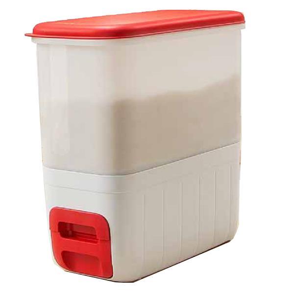 Tupperware Rice Dispenser 10kg Storage