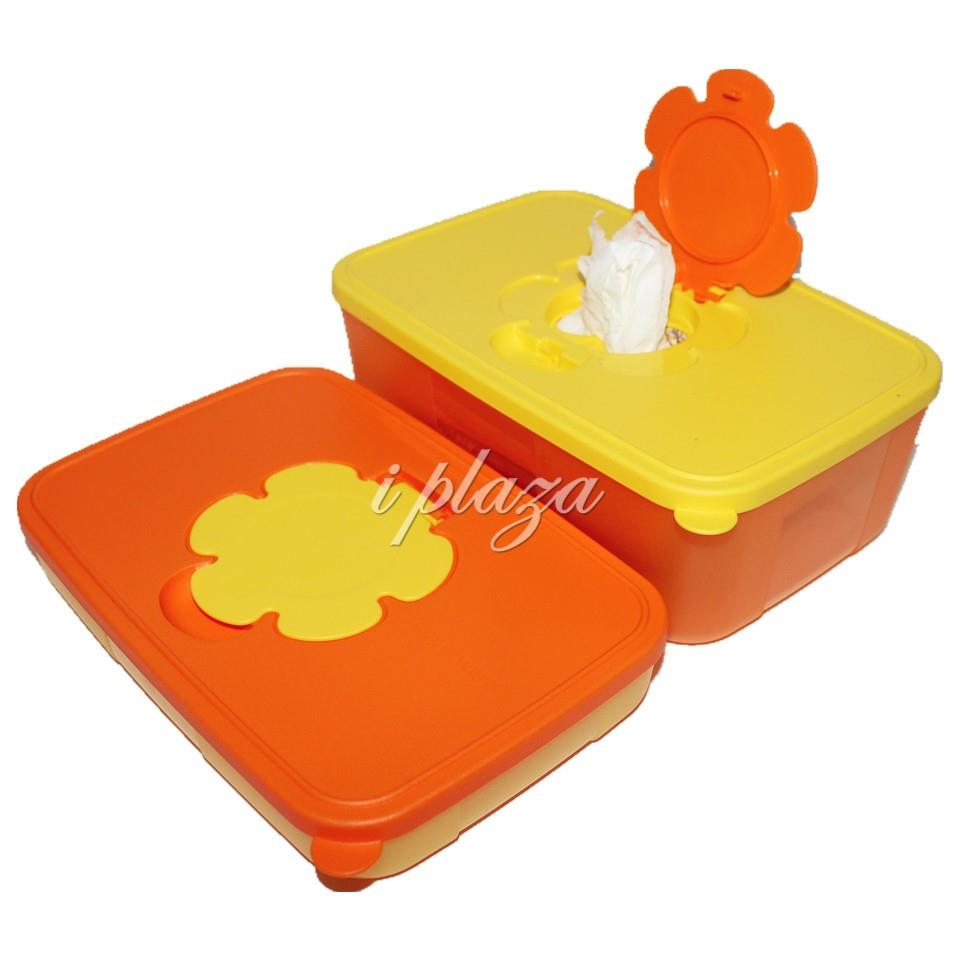 Tupperware Tissue Box set (2)