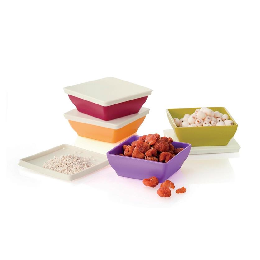 Tupperware Zen Square Small (1)pc 200ml only - Random Color Send