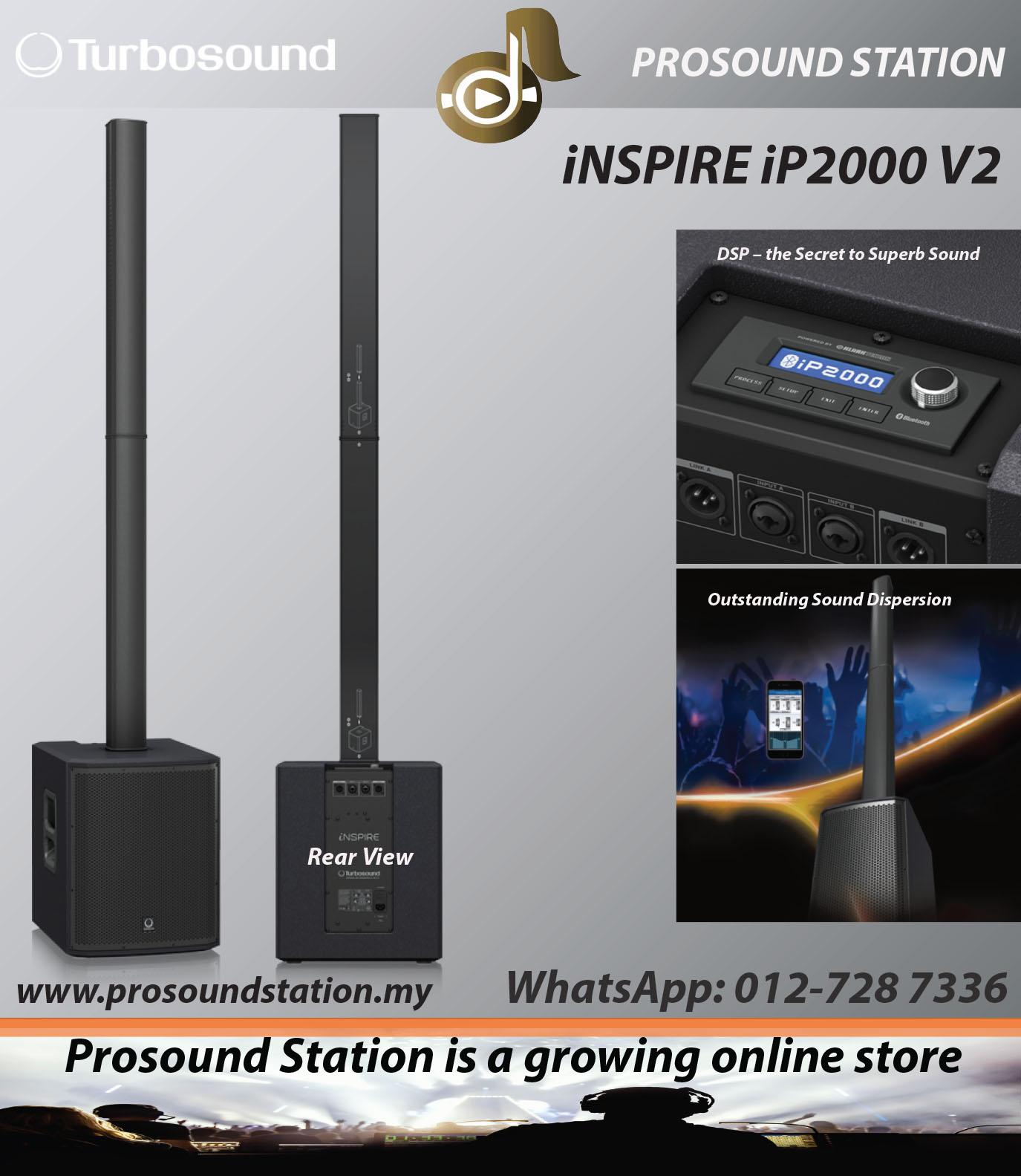 TURBOSOUND iNSPIRE iP2000-V2