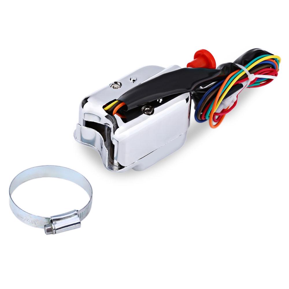 Hot Rod Turn Signal Switch Rat Wiring Harness Chrome Universal Street Sunjess I Sale 1000x1000