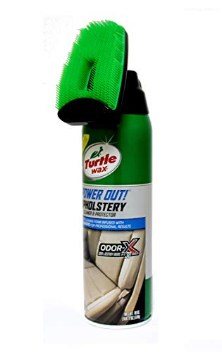 Turtle Wax T-246 Upholstery Cleaner, 22 Ounces Brush Top/from USA