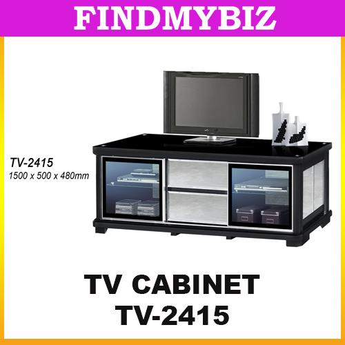 TV-2415 5' LONG CLASSIC PREMIUM LUXURY TV DISPLAY CABINET DESK TABLE