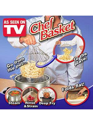As Seen On TV~Chef Basket (For Fry/Steam)