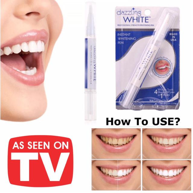 AS SEEN ON TV~Dazzling White Teeth Whitening Pen