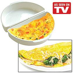As Seen On TV~ Egg & Omelet Wave (For Microwave)