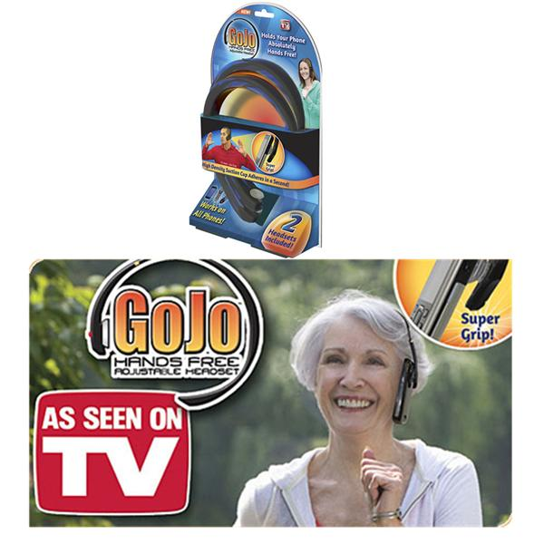AS SEEN ON TV GOJO HANDSFREE ADJUSTABLE HEADSET