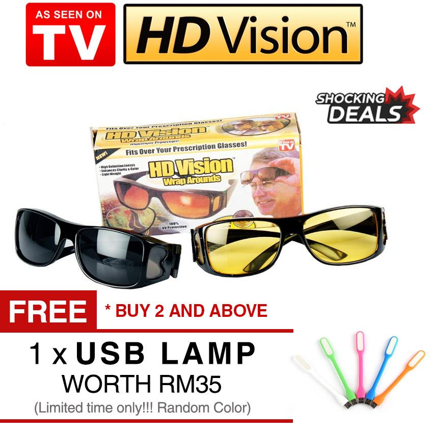 a9d20480dd As seen on TV HD Vision Wraparound A (end 4 30 2020 5 06 PM)