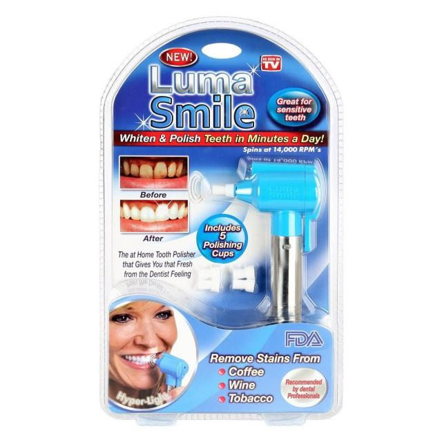 AS SEEN ON TV~Luma Smile Whiten & Polish Teeth