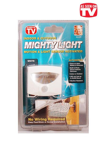As Seen On TV~ Mighty Light Montion and Light Sensor LED