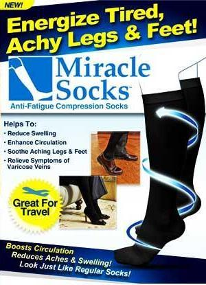 As Seen On TV~Miracle Socks