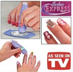 As Seen As On TV¡ãNail Art Stamping Kit 12226