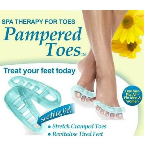 As Seen On TV~ Pampered Toes Spa Therapy For Toes