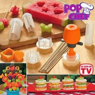 As Seen On TV~ Pop Chef Food Decorator