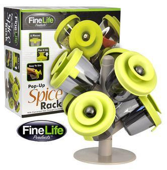 As Seen On TV~ Pop-Up Spice Rack