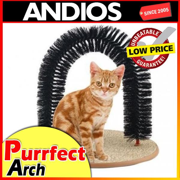 As seen on TV purrfect arch self groomer massager for cat kitten