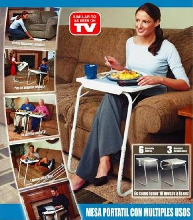 (As Seen On Tv) Smart Table Mate 5 In 1/Foldable Folding