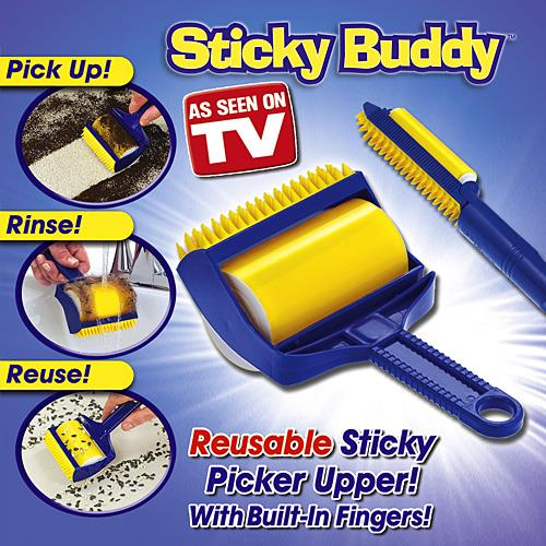As Seen on TV~Sticky Buddy Hair Dust Remover