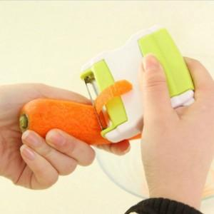 As Seen On TV~Stretchable Portable Peeler & Shredded