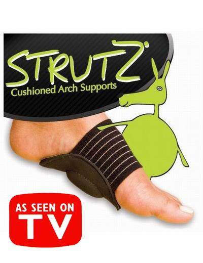 As Seen On TV~Strutz Cushioned Arch Supports