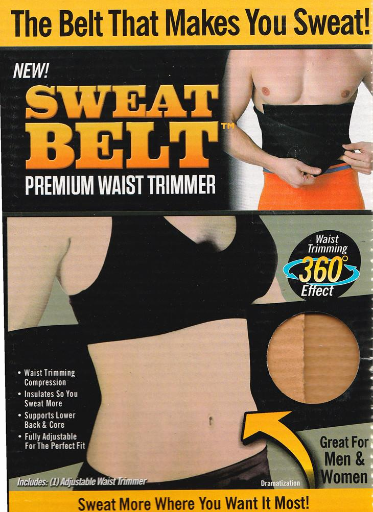 As Seen On TV~Sweat Belt Premium Waist Trimmer
