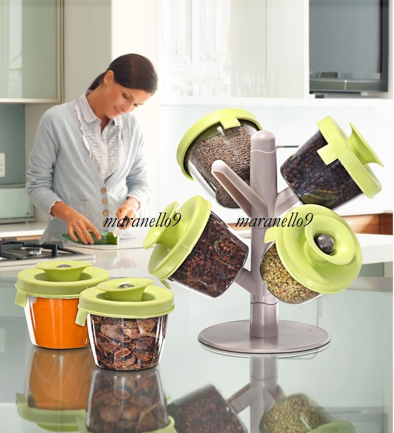 ~ As Seen On Tv : Tree Shaped Pop-up Spice Rack . Must Have ~