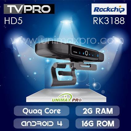 TVPRO CAMERA TV BOX RK3188 Quad Core 2GB Ram 16GB Rom Android 4