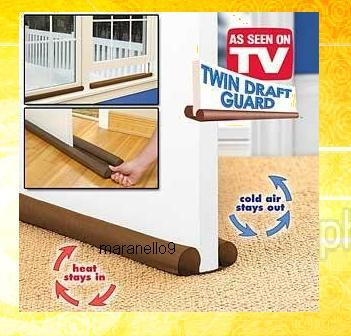 New: Twin Draft Guard - Insulates Your Home from Outside Dirt & Dust