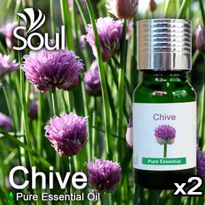Twin  Pack Pure Essential Oil Chive - 10ml