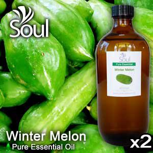 Twin Pack Pure Essential Oil Winter Melon - 500ml