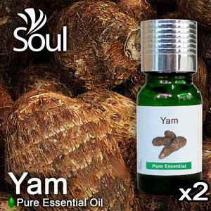 Twin Pack Pure Essential Oil Yam - 10ml