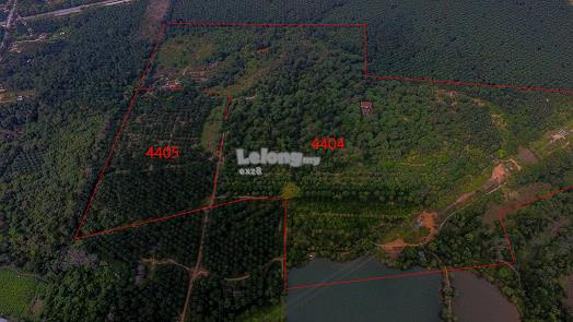Two Adjoining land for sale in Melaka
