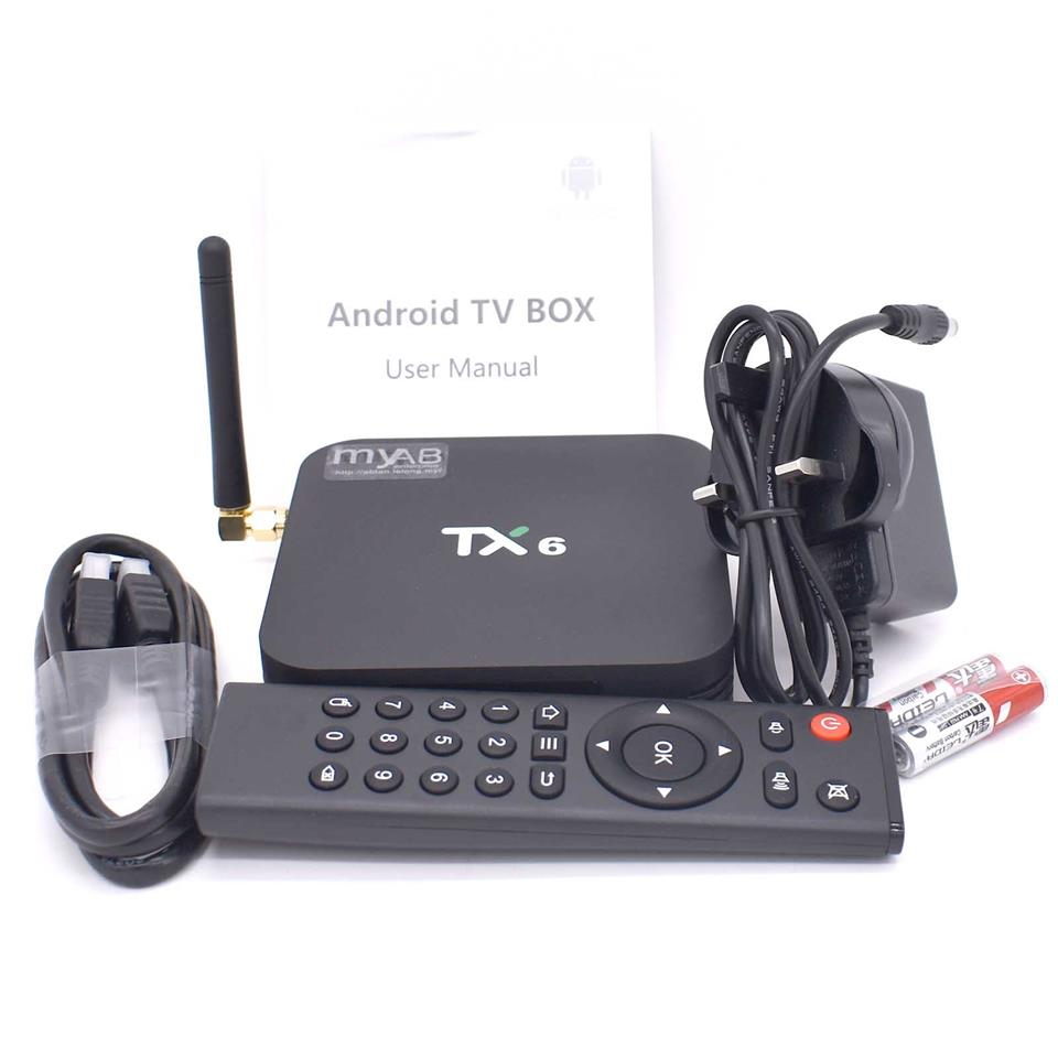 TX6 H6 4G 2G 16G 32G 64G 6K Android Smart TV Box 5G 4K
