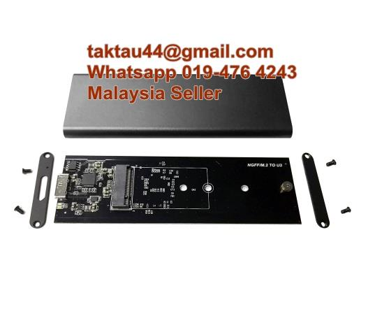 Type-C M.2 NGFF TO USB 3.0 SSD Enclosure Super Speed Solid State