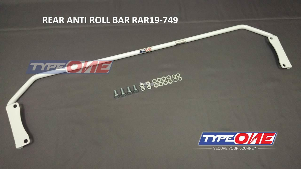 Type One Safety Bar-H. City i-VTEC 14Y 1.5 GM6(Rear Anti Roll Bar)