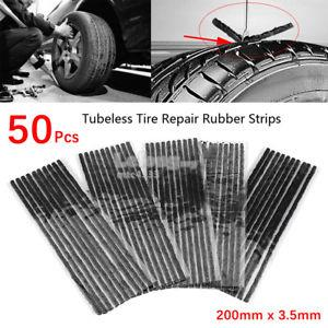 tyre tire wheel rubber car Puncture string silicon hole repair seal