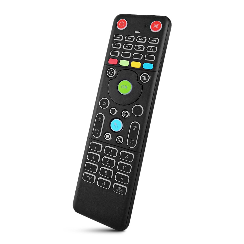 TZ18 2.4GHZ WIRELESS AIR MOUSE MINI KEYBOARD REMOTE CONTROLLER WITH BA..