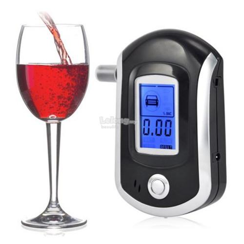 U-Kiss Professional LCD Screen Display Alcohol Tester Digital Alcohol ..