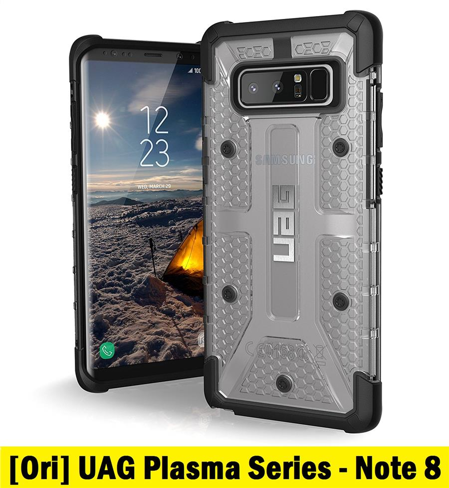 UAG Samsung Galaxy Note 8 Plasma Series Rugged Military Grade (Ice)