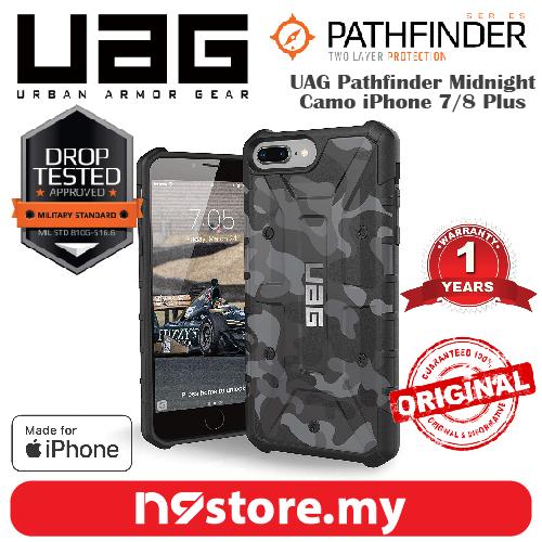 UAG Urban Armor Gear Pathfinder Case For iPhone 7/8 Plus - Midnight Ca