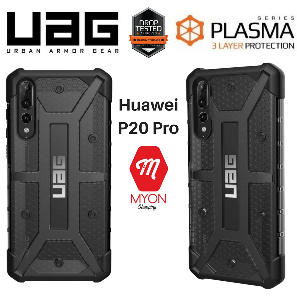 on sale 7b2a9 1cf80 UAG Urban Armor Gear Plasma Case for Huawei P20 Pro (ASH)
