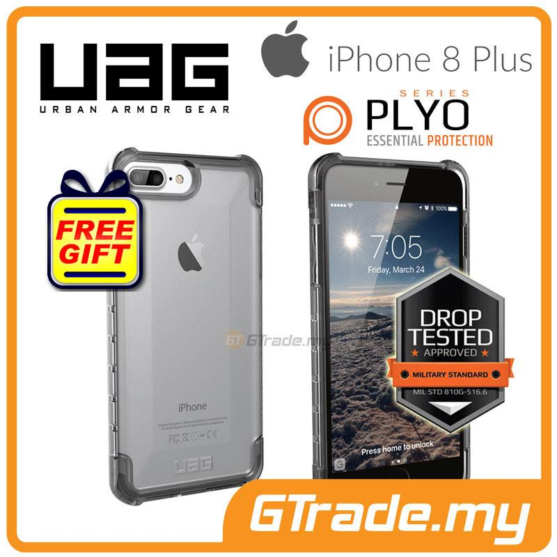 the best attitude c41ee 47da8 UAG Urban Armor Gear Plyo Case Apple iPhone 8 7 6s Plus Ice