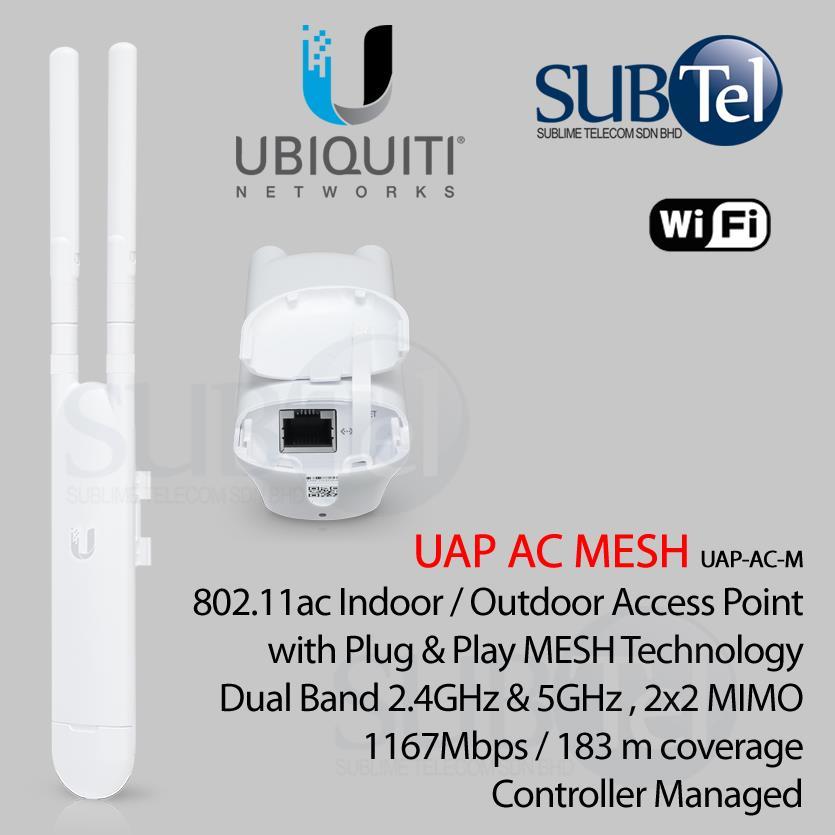 UAP-AC-M Outdoor Ubiquiti AP AC Mesh Dual Band WiFi Malaysia
