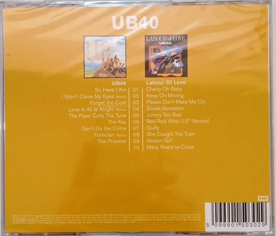 UB40 UB44 Labour Of Love 2 Original Classic Albums 2CD OFFER