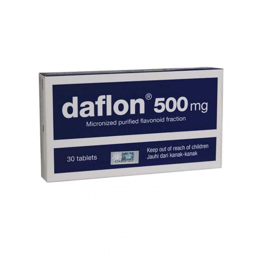 Ubat BUASIR Pills : DAFLON 500mg 30 (end 3/9/2017 10:15 PM)